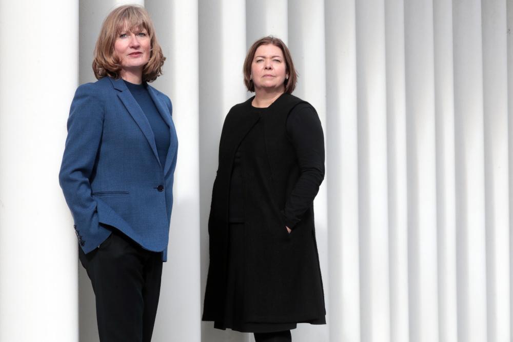 Clare Wareing and Nicola Broughton