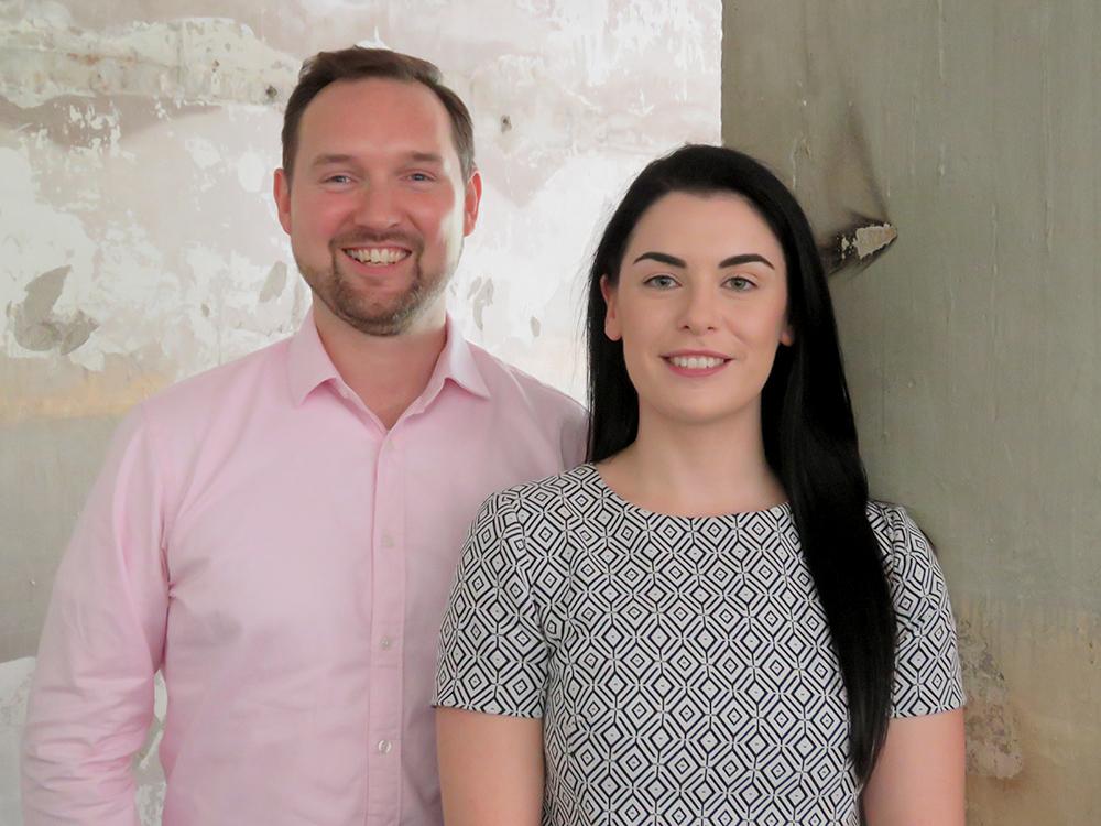 Sean McGrath and Sara Cook